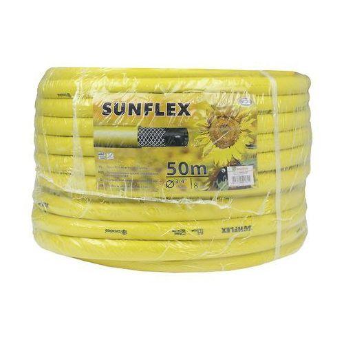 """wąż ogrodowy sunflex zbrojony 3/4"""" 50m wms3/450 marki Bradas"""