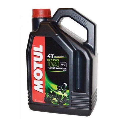 Olej silnikowy 10w40 5100 4t ester 4l marki Motul