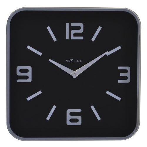 Nextime Zegar ścienny shoko czarny (8717713006541)
