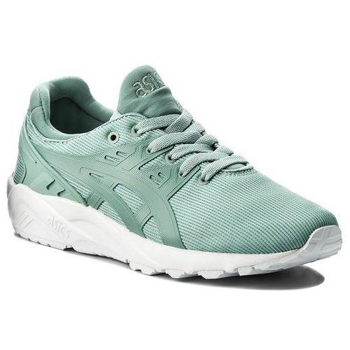 Sneakersy - tiger gel-kayano trainer evo h823n blue surf/blue surf 4646 marki Asics