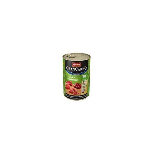 Animonda dog konserwa Gran Carno wołowina/serce - 400g (4017721827317)