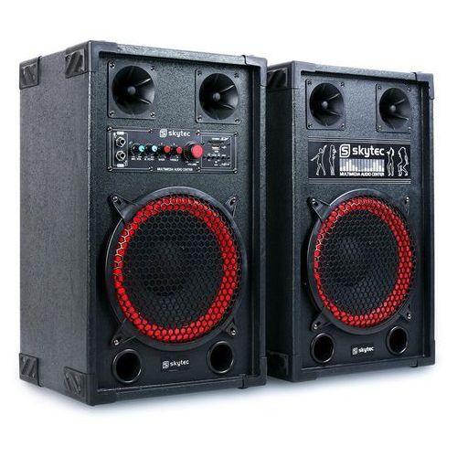 Fenton spb-10 aktywny i pasywny głośnik 600w 25cm woofer marki Skytec