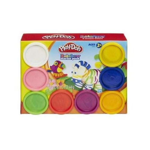 Hasbro Play-doh tęczowy zestaw startowy