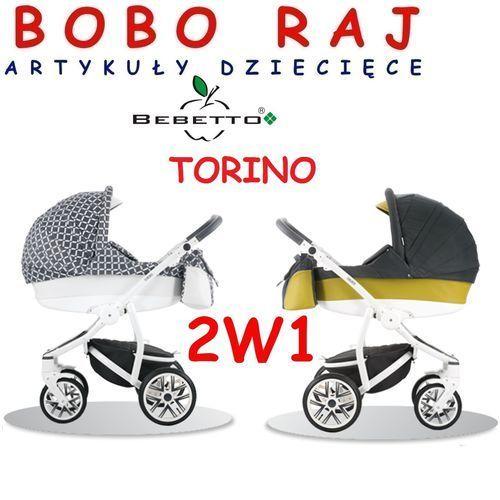 Wózek głęboko-spacerowy firmy model torino + fotelik odbierz swój rabat tylko dzisiaj! marki Bebetto
