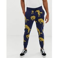blue & yellow sweatpants - navy, Wrangler, M-XL