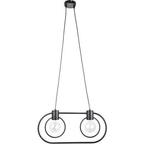 Lampa wisząca Fredo koło 2 x 60 W E27 czarna, 31521