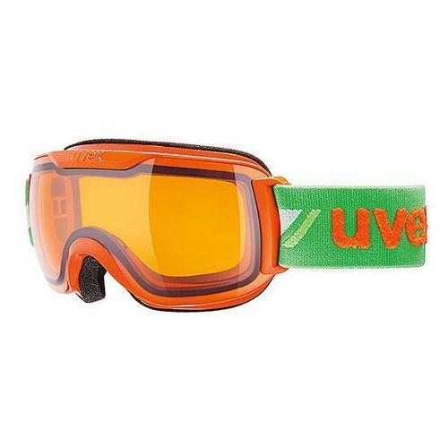 Gogle narciarskie  downhill 2000 race s pomarańczowo-zielony marki Uvex