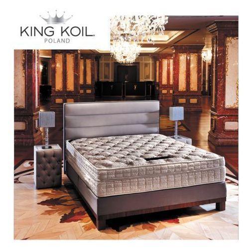 King koil Materac amethyste  kieszeniowo-lateksowy: rozmiar - 200x200