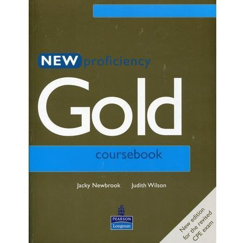 New Proficiency Gold Student&-8217;s Book (9780582507272)