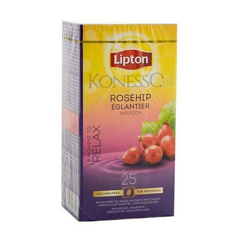 Owocowa herbata classic rosehip 25 kopert marki Lipton