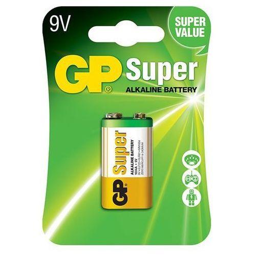 Bateria alkaliczna GP Super Alkaline 6LR61/9V, 1604A-U1