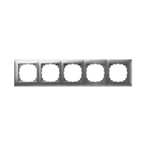 Elektro-plast nasielsk Carla ramka pięciokrotna srebrna 1775-06