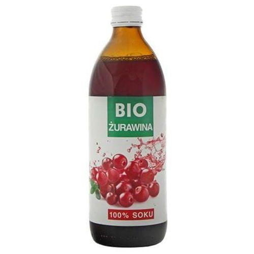 Premium rosa Żurawina sok 100% bez cukru bio 500 ml (5902036002421)