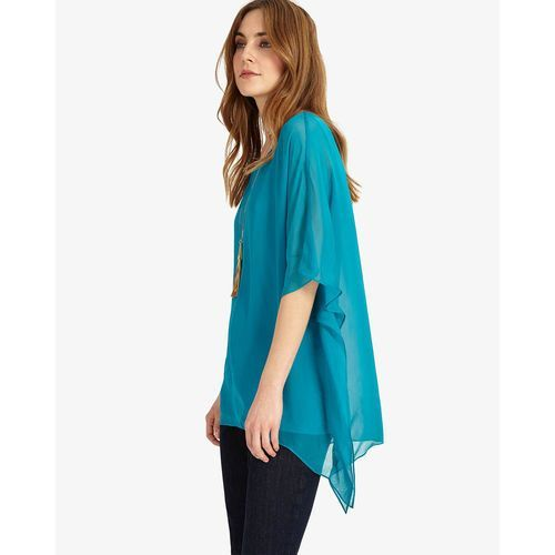 Phase Eight Maggie Asymmetric Silk Blouse