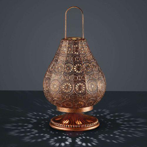Trio jasmin lampa stołowa miedź, 1-punktowy - vintage - obszar wewnętrzny - jasmin - czas dostawy: od 4-8 dni roboczych (4017807286656)