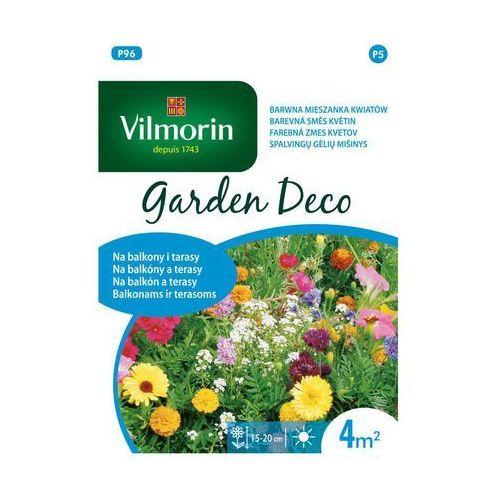 Mieszanka kwiatów na 4 m2 NA BALKONY I TARASY nasiona tradycyjne 8 g VILMORIN (5907617322103)