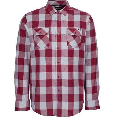 koszula SANTA CRUZ - Derby PortGrey Check (PORT-GREY CHECK) rozmiar: M, kolor szary