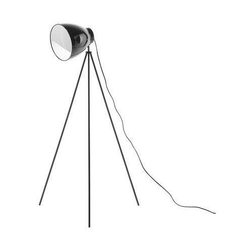 Lampa stojąca czarna TAMEGA, kolor Czarny
