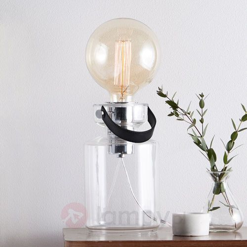 Markslojd Lampa stołowa adrian e27 1 x 40 w transparentna