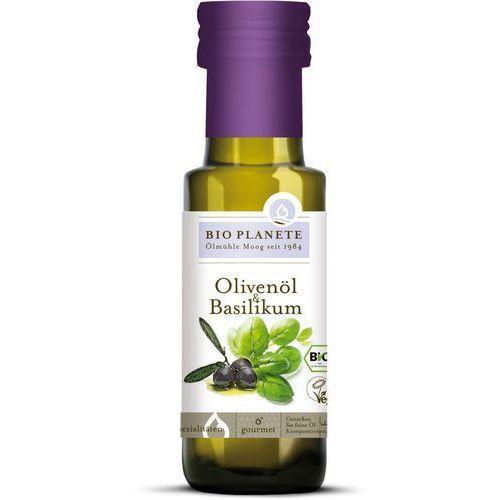 Bio planete (oleje i oliwy) Oliwa z oliwek z bazylią bio 100 ml - bio planete