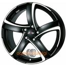 Alutec shark racing black frontpolished 7.00x16 5x112 et48 dot