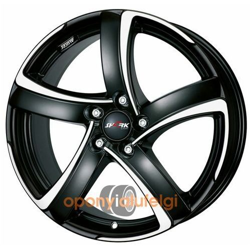 shark racing black frontpolished 7.00x17 4x100 et40, dot marki Alutec
