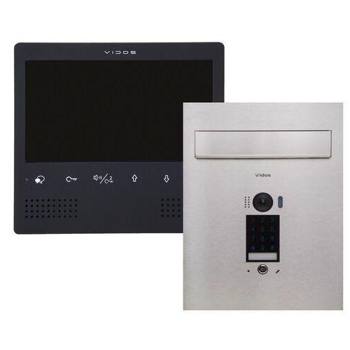 Wideodomofon skrzynka na listy z szyfratorem s1401d-skp m1023b marki Vidos