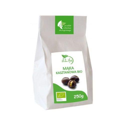 250g mąka kasztanowa bio marki Biolife