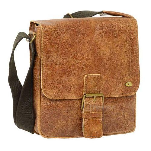 Daag Jazzy Wanted 11 torba skórzana na ramię / brązowa - brązowy