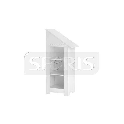 PINIO Marsylia Regał - dostawka (uniwersalny - prawy/lewy) biały MDF - 019-070-110
