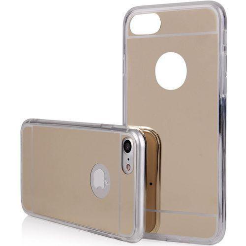 Qult etui back case mirror do iphone 7 złoty + zamów z dostawą jutro! (5901836525925)