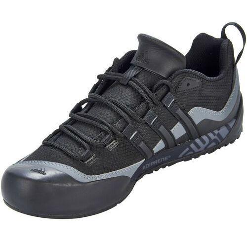 adidas Performance TERREX SWIFT SOLO Buty wspinaczkowe black/lead (4053515407631)