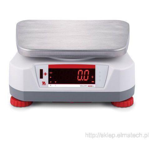 Ohaus Valor 4000 nierdzewna z legalizacją (6kg) V41XWE6T-M - 30035665