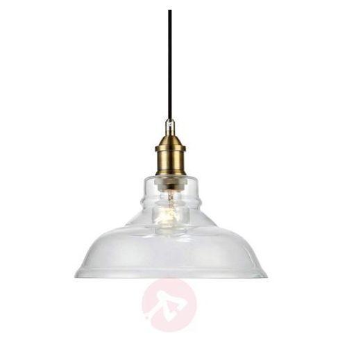 LAMPA wisząca MORGAN 106407 Markslojd szklana OPRAWA zwis patyna przezroczysta (7330024559196)