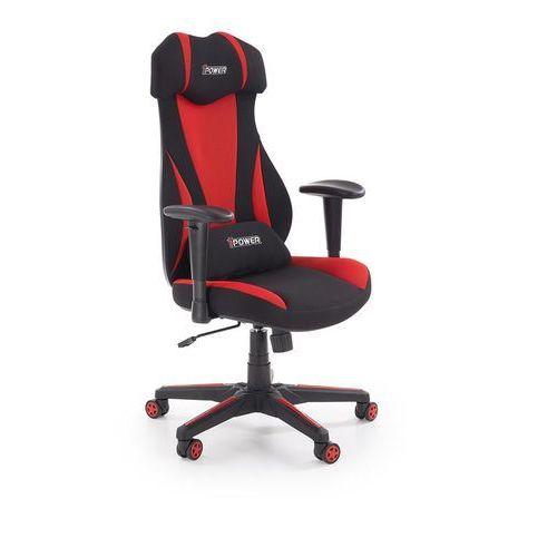 Fotel dla gracza gamingowy HALMAR ABART czerwony/czarny