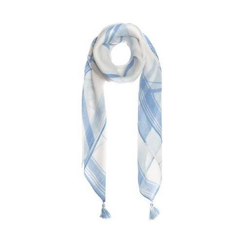 Armani exchange szalik niebieski biały uni (8054523760745)