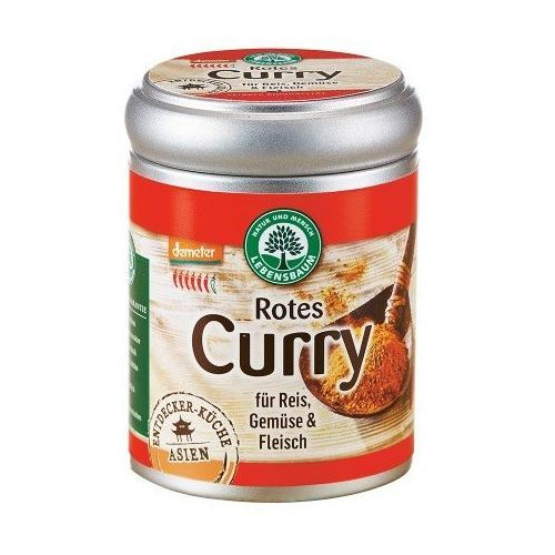 Przyprawa curry czerwone bio 55 g - lebensbaum marki Lebensbaum (przyprawy, herbaty, kawy)