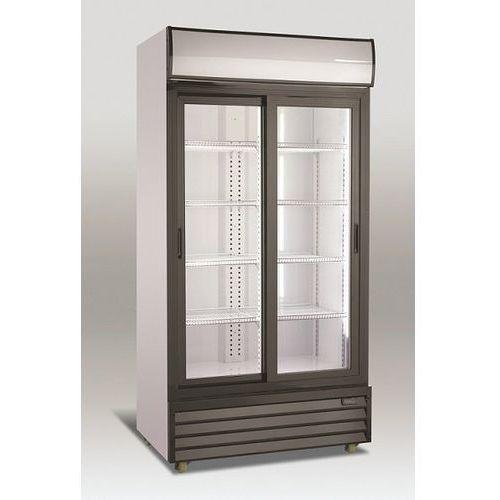 Szafa chłodnicza przeszklona   800L   1000x700x(H)2020mm