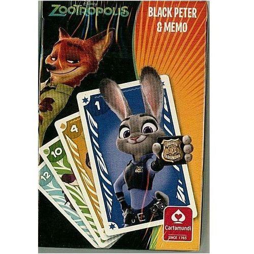 Zootropolis Czarny Piotruś Memo - Cartamundi, AM_5901911002716