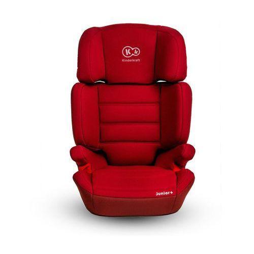 Fotelik samochodowy Junior 15-36 kg czerwony - KinderKraft (5902021215881)