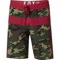 FOX - Camouflage Moth Boardshort Green Camo (031) rozmiar: 33, kolor zielony