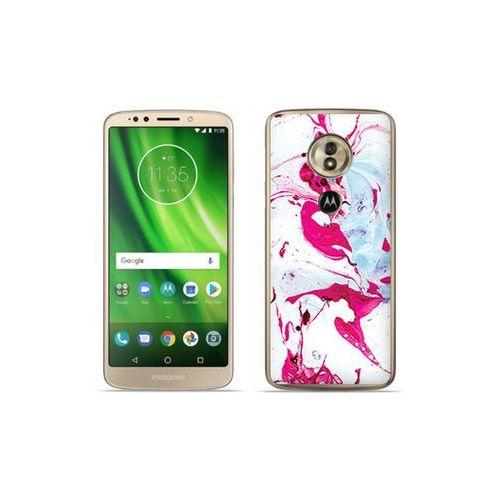 etuo Fantastic Case - Motorola Moto G6 Play - etui na telefon Fantastic Case - różowy marmur