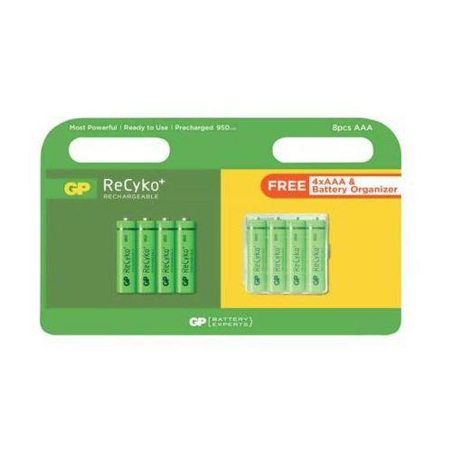 Akumulator GP BATTERY Recyko+ AAA 950 mAh (8 szt.), GP100AAAHCE-2UWD8
