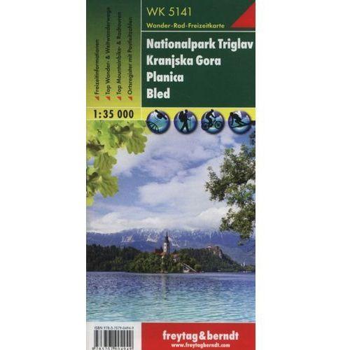 Triglav Park Narodowy Planica Kranjska Gora. Mapa 1:35 000 (9783707904949)