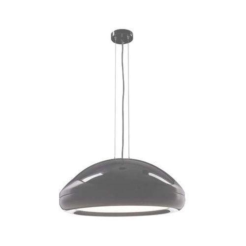 LAMPA wisząca NAKA 5581/E27/SZ Shilo metalowa OPRAWA okrągły zwis kopuła szara, 5581/E27/SZ