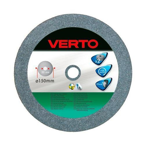 Tarcza do szlifowania VERTO 61H605 150 x 20 x 20 mm do metalu (2 sztuki)