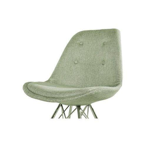 Interior Krzesło astoria retro szarozielone