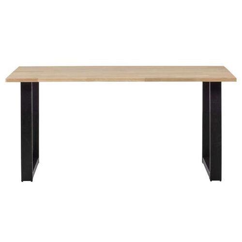 stół tablo dębowy [fsc] 160x90 z noga u 376014-u marki Woood