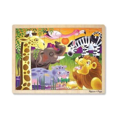 Melissa & doug Puzzle drewniane zwięrzęta 12937