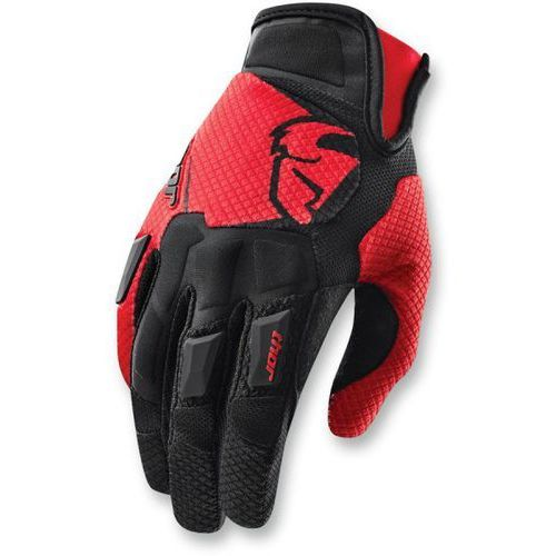 Thor rękawice flow s15 offroad gloves black/red =$